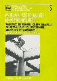 Couverture de la publication Poteaux en profils creux remplis de béton sous sollicitations statiques et sismiques