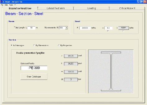 Image du logiciel LTBEAM