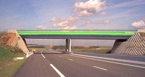 Image de pont sur autoroute