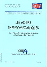 Couverture ouvrage les aciers thermomecaniques