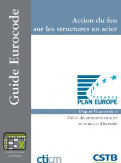 Couverture ouvrage CTICM Action du feu sur les structures en acier