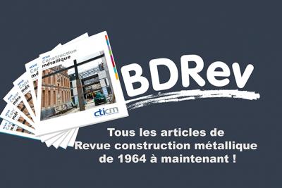 Image représentant bdRev, la banque de textes de la revue Construction Métallique du CTICM