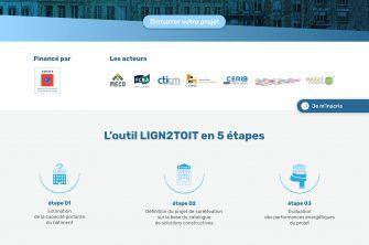 L'outil Lign2toit sur la surélévation est en ligne